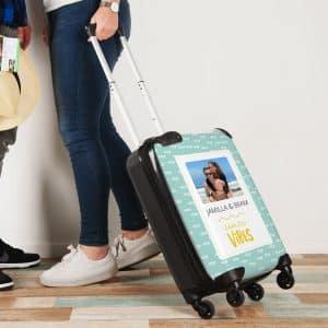foto handbagage trolley